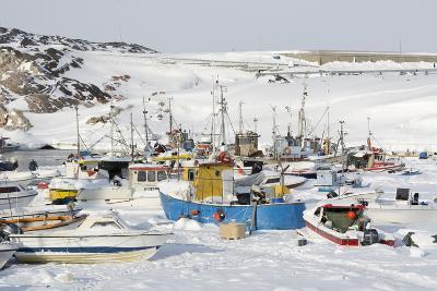 Ilulissat Harbour, Greenland, Denmark, Polar Regions-Sergio Pitamitz-Photographic Print