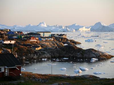 Ilulissat Kangerlua Glacier also known as Sermeq Kujalleq, Ilulissat, Disko Bay, Greenland-Levy Yadid-Photographic Print