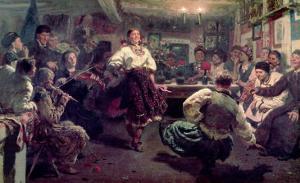 Country Festival, 1881 by Ilya Efimovich Repin