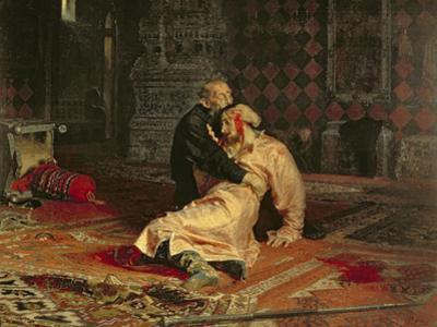 Ivan the Terrible and His Son on the 16th November, 1581, 1885 by Ilya Efimovich Repin