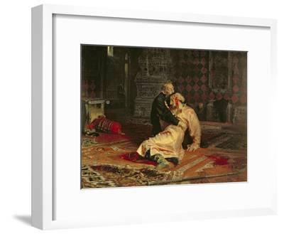 Ivan the Terrible and His Son on the 16th November, 1581, 1885