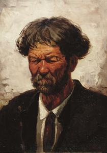 Portrait of a Man by Ilya Efimovich Repin