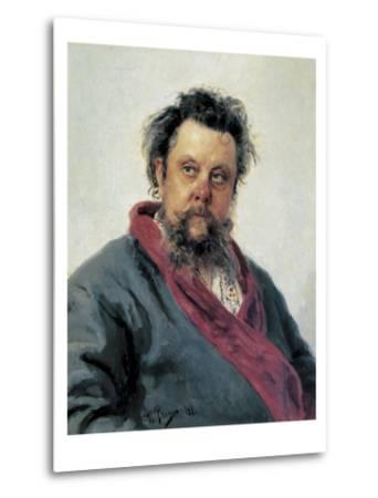 Portrait of Modest Mussorgsky