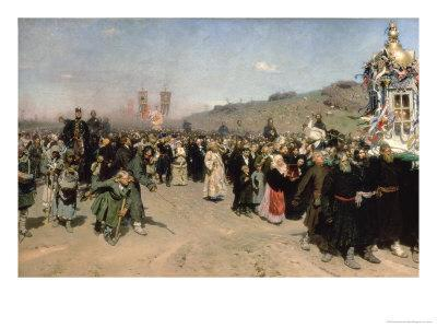 Religious Procession in the Province of Kursk, 1880-83