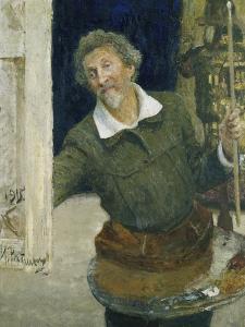 Self Portrait, 1915 by Ilya Efimovich Repin