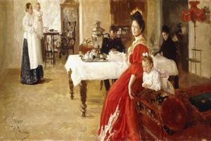 Study of a Family Portrait, 1905 by Ilya Efimovich Repin
