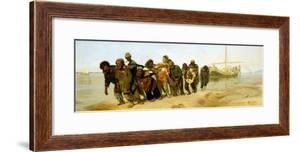 The Boatmen on the Volga, 1870-73 by Ilya Efimovich Repin