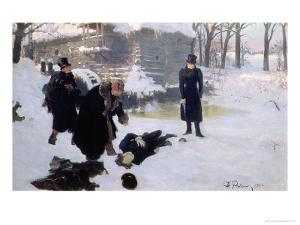 The Duel, 1901 by Ilya Efimovich Repin
