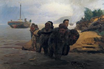 Barge Haulers Wading
