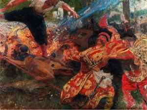 Hopak by Ilya Yefimovich Repin