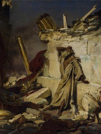 Jeremiah Lamenting the Destruction of Jerusalem, 1870