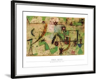 Im Bachschen Stil, 1919-Paul Klee-Framed Art Print