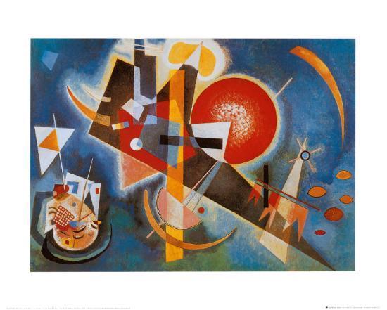 Im Blau, c.1925-Wassily Kandinsky-Art Print