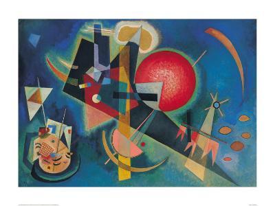 Im Blau-Wassily Kandinsky-Art Print