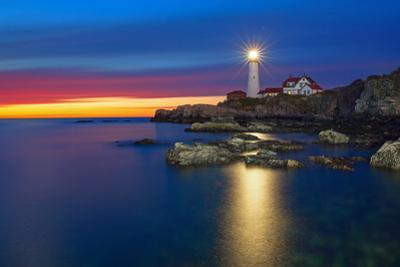 Portland Head Lighthouse by Image by Michael Rickard