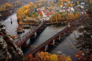 Harpers Ferry in the Fall by Image courtesy of Jeffrey D. Walters