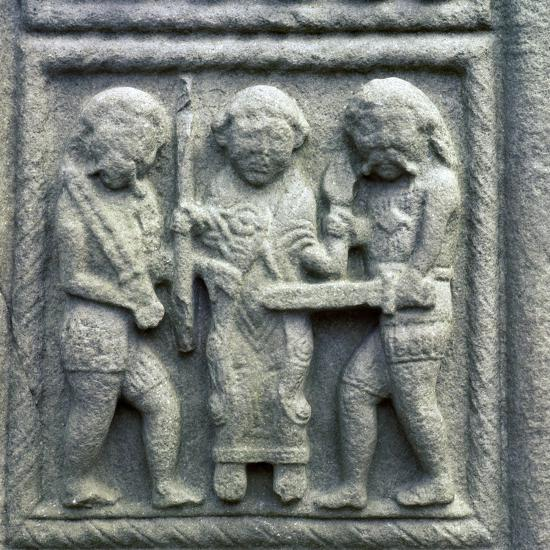 Image from the Cross of Muiredach, 10th century-Unknown-Giclee Print