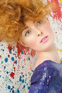 Young Woman with Bouffant by Image Source