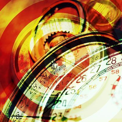 Images of Stopwatches--Photographic Print