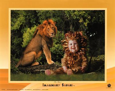 Imaginary Safari, Lion-Tom Arma-Art Print