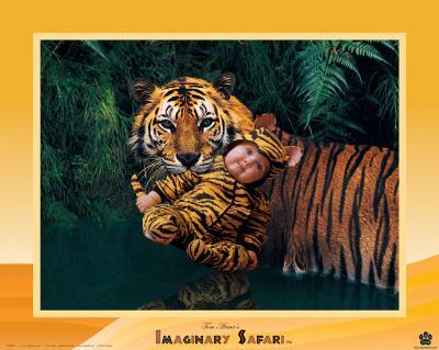 Imaginary Safari, Tiger-Tom Arma-Art Print