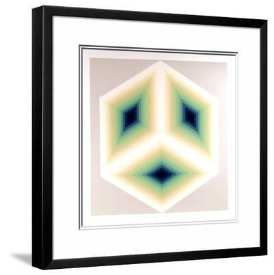 Imaginary Triangle-Jurgen Peters-Limited Edition Framed Print
