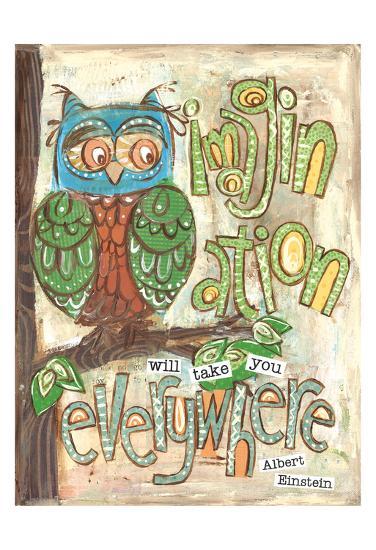 Imagination Everywhere-Erin Butson-Art Print