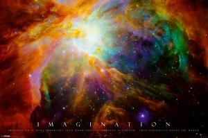 Imagination Nebula - Albert Einstein Quote