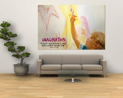 Imagination--Wall Mural