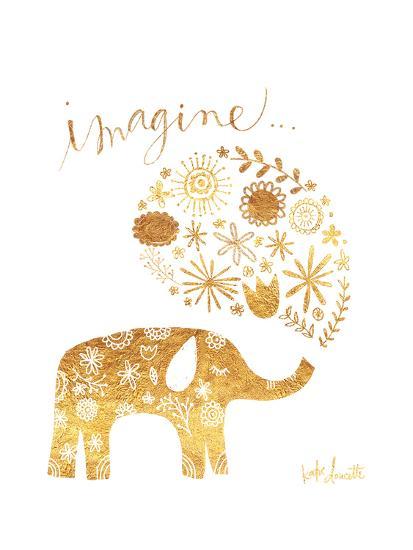 Imagine Elephant-Katie Doucette-Art Print