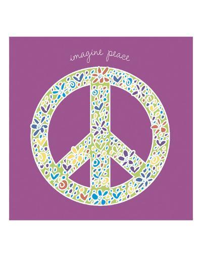 Imagine Peace-Erin Clark-Art Print