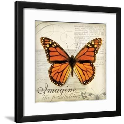 Imagine Possibilites-Amy Melious-Framed Art Print