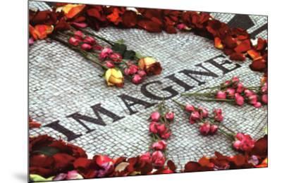 Imagine (Strawberry Fields John Lennon Memorial) Art Poster Print