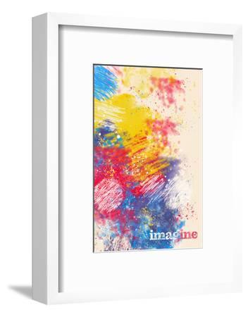 Imagine--Framed Premium Giclee Print
