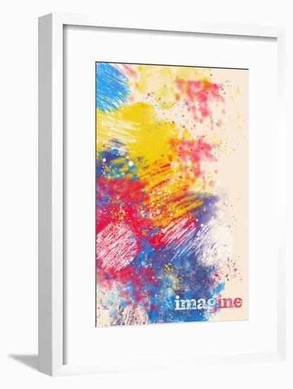 Imagine--Framed Art Print