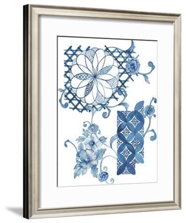 Imari - Kusuku-The Vintage Collection-Framed Giclee Print