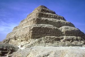 Step Pyramid of King Djoser (Zozer), Saqqara, Egypt, 3rd Dynasty, C2600 Bc by Imhotep