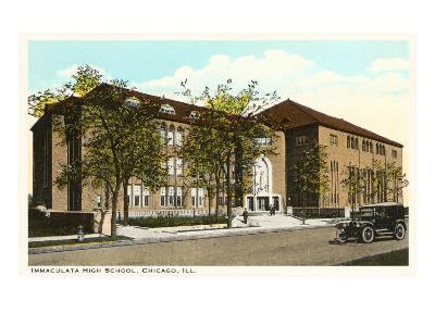 Immaculata High School, Chicago, Illinois--Art Print