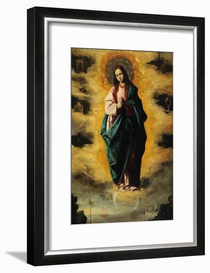 Immaculate Conception-Francisco de Zurbar?n-Framed Giclee Print