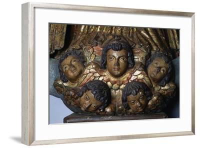 Immaculate Virgin, Wood Carving, Jesuit Mission of St Ignatius, Paraguay--Framed Giclee Print