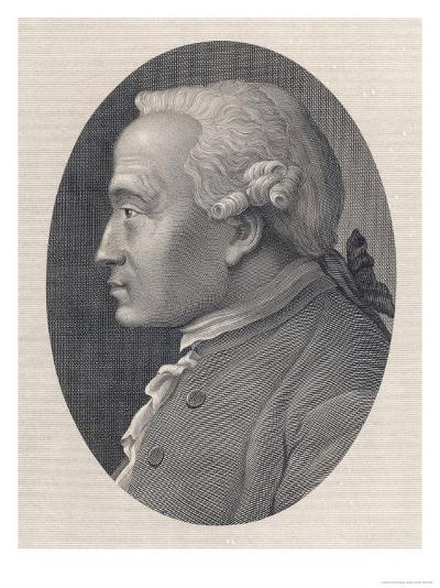 Immanuel Kant German Philosopher--Giclee Print