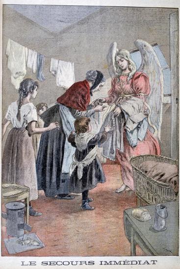 Immediate Help, 1899-Oswaldo Tofani-Giclee Print