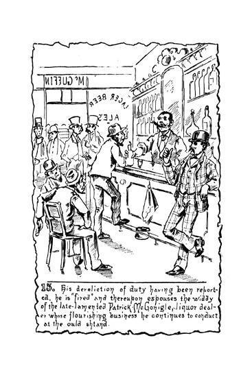 Immigrants: Irish, C1885--Giclee Print