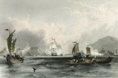 Imogene and Andromache Bocca Tigris-Thomas Allom-Art Print