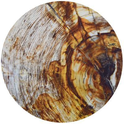 Impact - Circular Canvas Giclee Printed on 2 - Wood Stretcher Wall Art