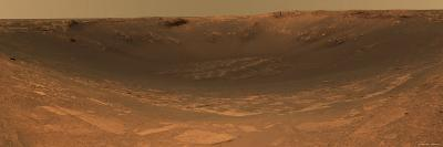 Impact Crater Endurance on the Surface of Mars-Stocktrek Images-Photographic Print