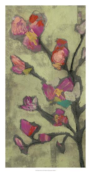 Impasto Flowers I-Jennifer Goldberger-Giclee Print