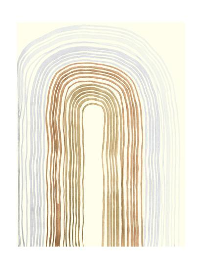 Imperfect Lines IV-Alicia Ludwig-Art Print