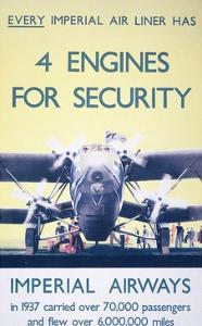 Imperial Airways: 4 Engines for Security