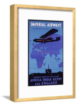 Imperial Airways Poster